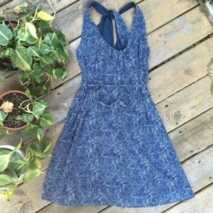 {Converse} Twisted Back Dress w/ Drawstring, sz. S